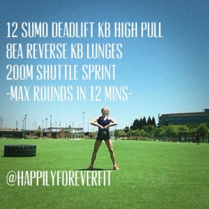 12 Minute Burn Workout