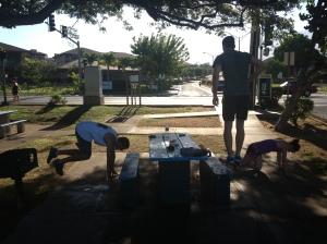 Family Tabata Workout