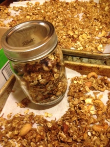 Fresh Homemade Granola