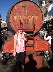 Butterbeer at Universal Studios!