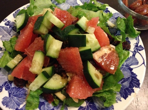 Grapefruit and Greens Salad