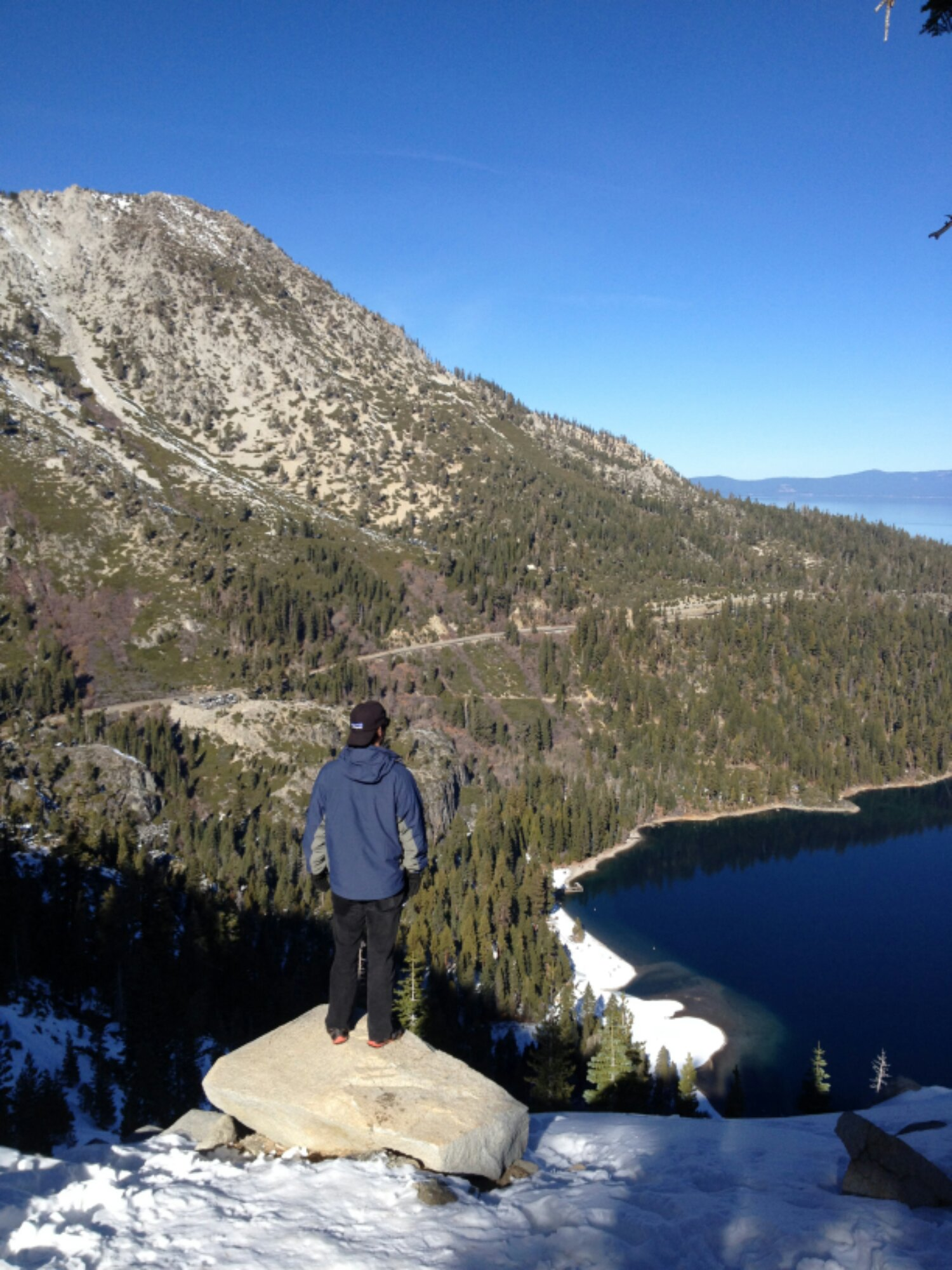 Hiking in beautiful Tahoe!